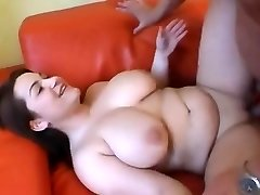 Cute Chubby girl having udders sucked and ravaged