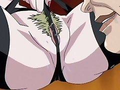 Anime secrétaire baise est grand