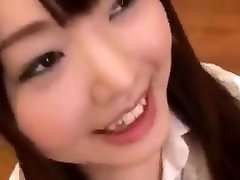 bonito japonês estudante bukkake