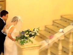 Here comes the bride...here comes the bride...