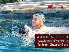 Pool Fight - Rachele Richey & Spencer Scott