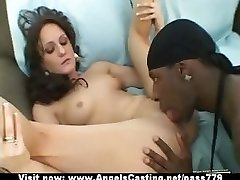 Adorable superb flexible black-haired babe showing mounds and pussy