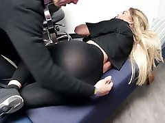 Brooke Lyn Visits the Chiropractor Leggings amazing Caboose