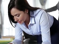 Keisha Grey Tears Up Enslaved Secretary Karlee Grey