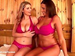 DDF Busty - Katerina Hartlova and Sensuous Jane Big tits and Orgasms