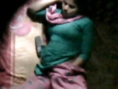 barishal nymph happy jacking in her bed seen by neighbor