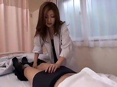 Greatest Japanese chick Rio Hamasaki in Incredible Nurse, Blowjob JAV movie