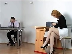 Kirsty Blue - Naughty Secretary getting disciplined by Boss