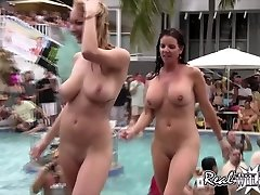 Raunchy Pool Twat Party