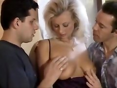 Steaming junior blonde lucy gets taut holes fucked