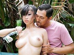TittyAttack - Hot Asian Stunner Titty Fucked