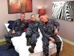 Gorgeous Navy Petty Officer tears up her Sailors