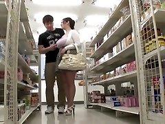 Exotic Japanese hoe in Greatest Public, HD JAV clip