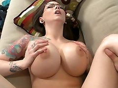 Monstrous titted boss Ashton Pierce