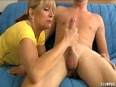 Mrs. Sexton  Strokes Cock