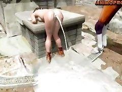 horse screw lara 3d anime