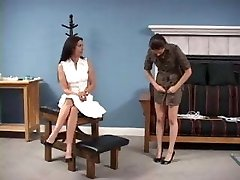 Disciplinarian Mom Spanking and Enema xLx