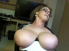 Good-sized titty pov