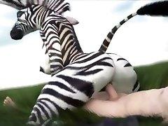 ZEBRA Chick COMPILATION (Straight Wooly Yiff) {SFM}