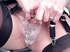 totally fashioned nylon teasing