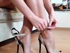 Brilliant MILF soles from IG heels toes arches