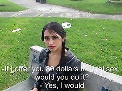 Η 'ντζι και ο' Λεξ Μέρος πρώτο. Η Έφηβη καταγράφει το πρώτο της βίντεο για λεφτά