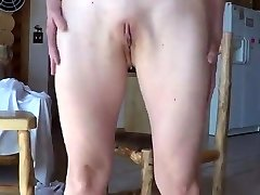 One very horny young lady