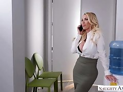 NAUGHTY AMERICA TOO MUCH OFFICE Romp