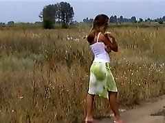 Hungarian  light-haired get fuckend outdoor