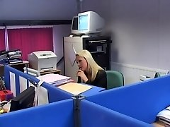 Brit Breezy Jane Berry gets fucked in the office