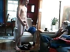 Disrobes and masturbates off for female friend - allthingscfnm