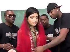 Pakistani Nadia Ali Gargles and Bangs Many BBCs
