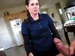 Real mom swallows sonnies precum