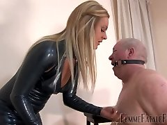 ownership ultra-cute white fat daddy slave dominatrix