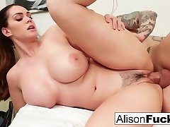 Busty Alison Tyler gets a fine nailing