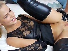 Crazy Creampie, Latex orgy video