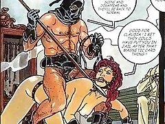 Sexual Fetish Fuck-a-thon Comic
