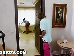 BANGBROS - Step-mother 3 way with the Latina maid Abby Lee Brazil