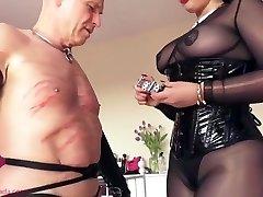 Mistress ly Lets Her Victim Cum