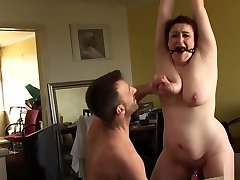 Chubby British Victim Cumswallows After Roughsex