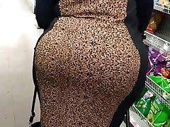 Granny wide edible ass