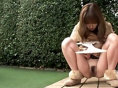 Exotic Asian gal in Amazing Outdoor, HD JAV clip
