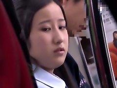 Naughty Japanese chick Miku Abeno, Mao Hamasaki, Riko Honda in Nasty Public, Cunnilingus JAV clip