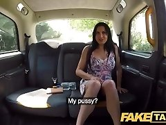 Fake Taxi Tight rectal fuck for spectacular Spaniard after back seat sumptuous blowjob