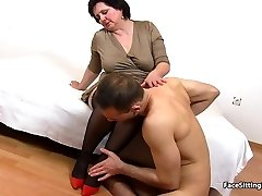 pussy-smothering mature