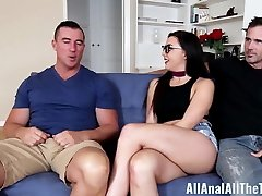 Whitney Wright gets butt drilled by older guy in front of Beau A