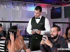 Huge ass latina Rose Monroe cheats on her boring guy