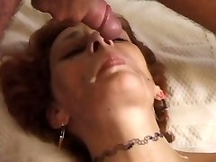 Redhead mom fucked on couch - Telsev