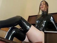 Teen Mistress in Spandex