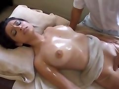young blonde tricked by chinese massage